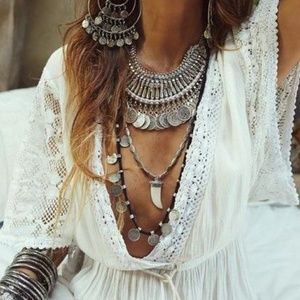 Boho/Gypsy Coin Necklace